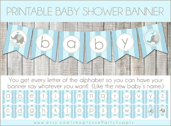 DIY Baby Shower Banners Pictures Photos And Images For