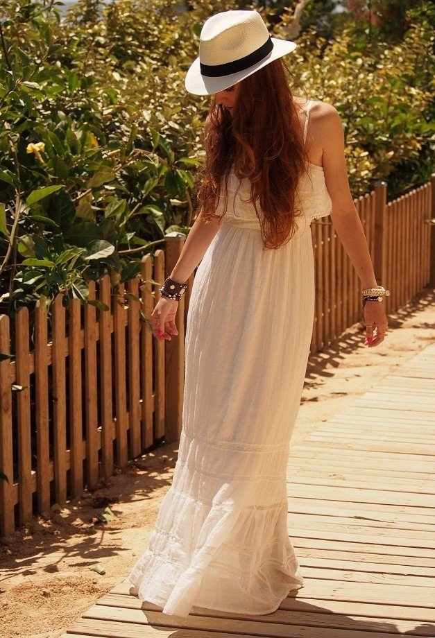 White Maxi Dress For Wedding