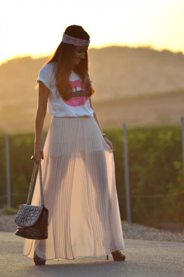 Image result for maxi skirt tumblr