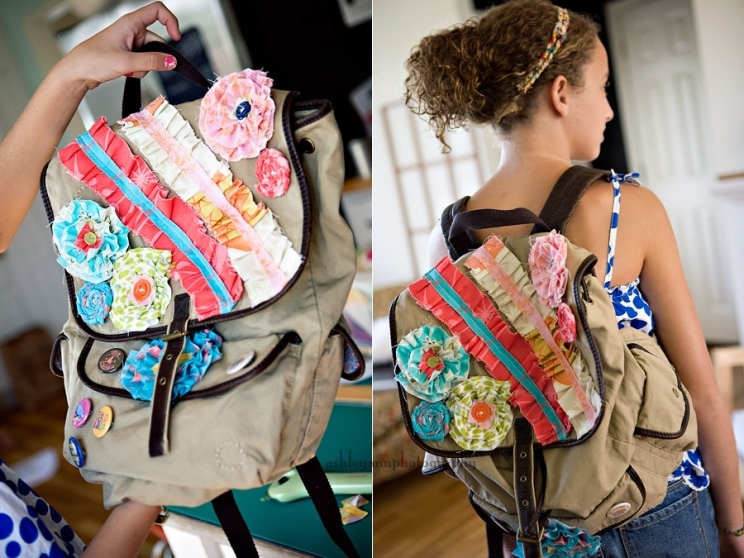 Diy Floral Backpack Pictures Photos And Images For