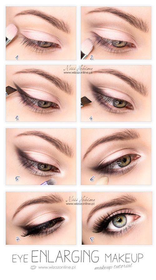 Eye Enlarging Makeup Tutorial Pictures Photos and Images