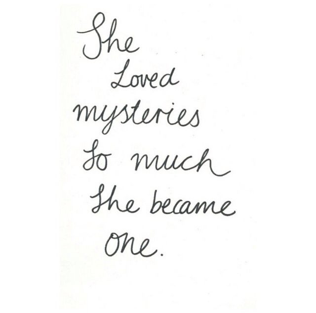 She Loved Mysteries So Much Pictures, Photos, and Images