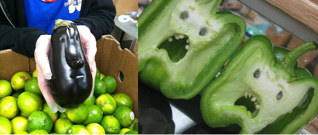 20 Funny Looking Fruits And Vegetables Pictures Photos