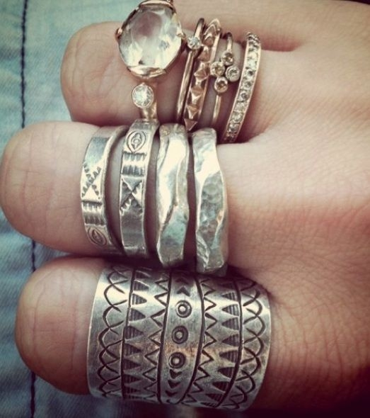 Boho And Hipster Rings Pictures Photos and Images for
