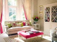 Pretty Living Room With Pink Accent Pictures, Photos, and ...