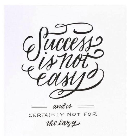 Success Is Not Easy Pictures, Photos, and Images for