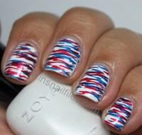 Gallery For > Patriotic Nail Art Designs