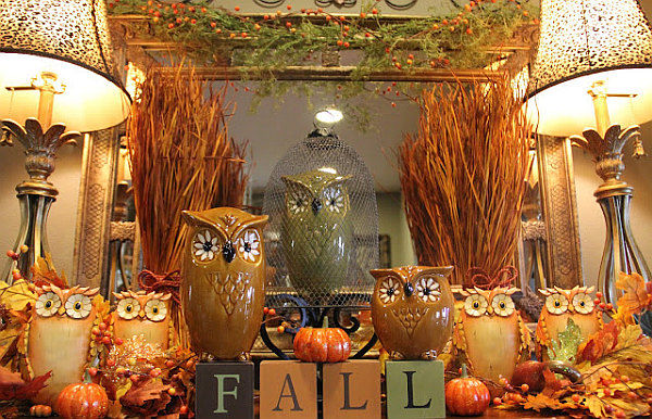 Adirondack Fall Wallpaper Fall Owl Decorations Pictures Photos And Images For