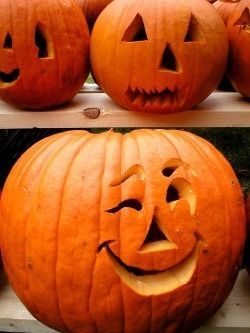 Winking Pumpkin Pictures Photos and Images for Facebook Tumblr Pinterest and Twitter