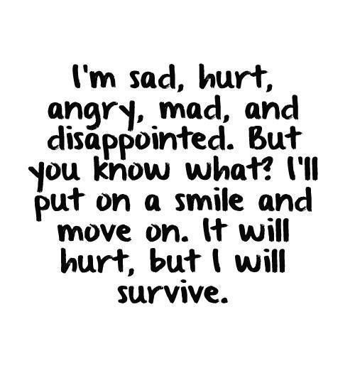 I will survive