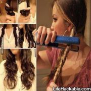 diy wavy hair
