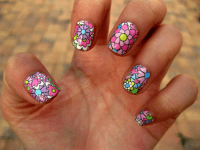 Floral Nail Designs Pictures, Photos, and Images for ...
