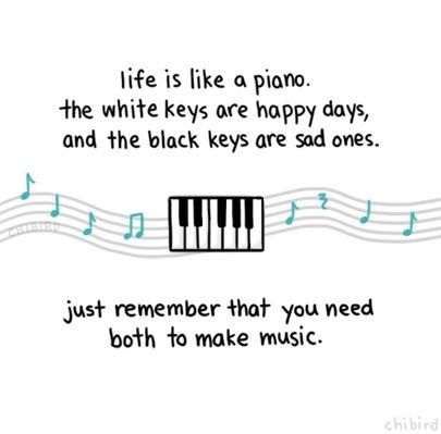 Life Is Like A Piano Pictures, Photos, and Images for