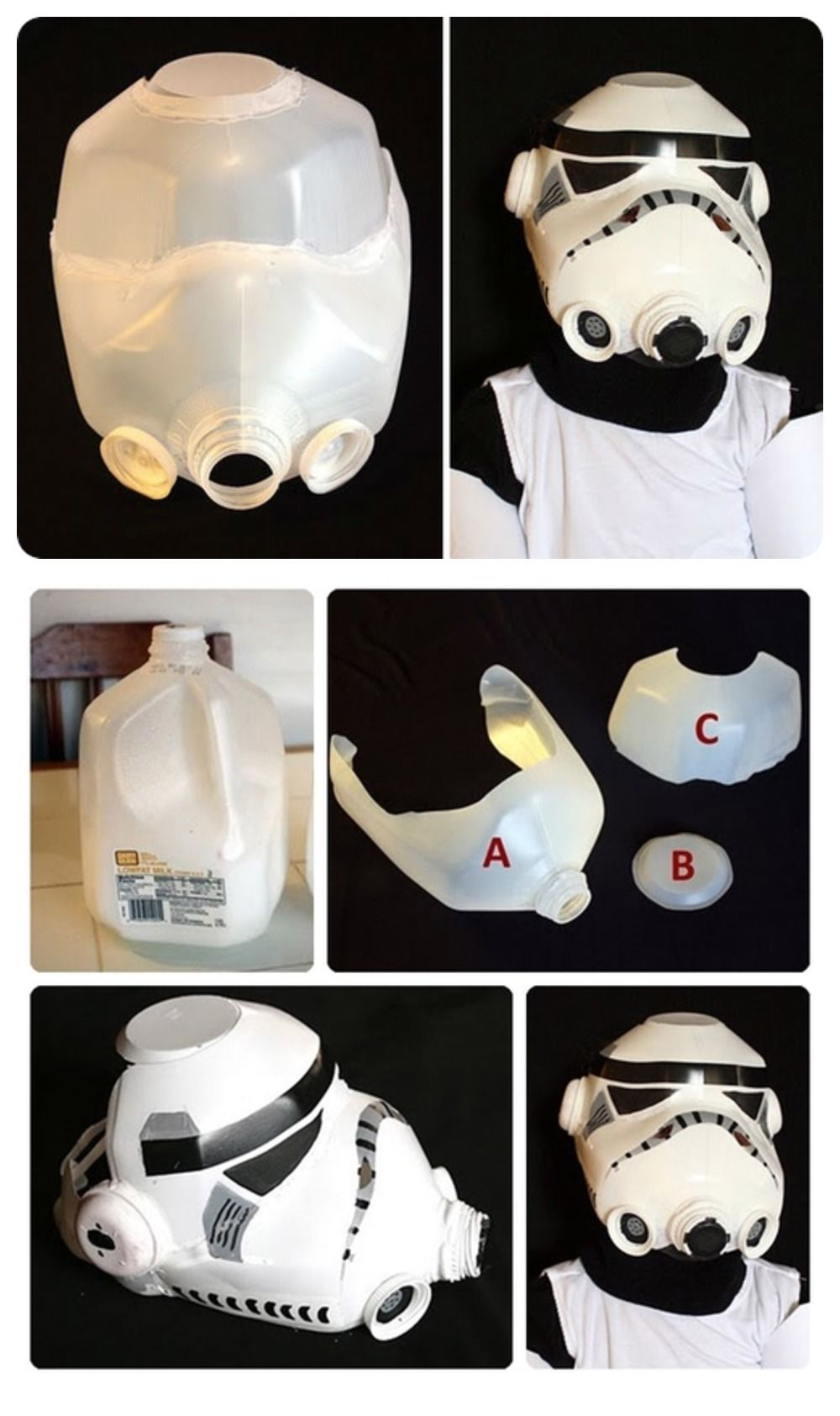 DIY Storm Trooper Helmet Pictures Photos And Images For