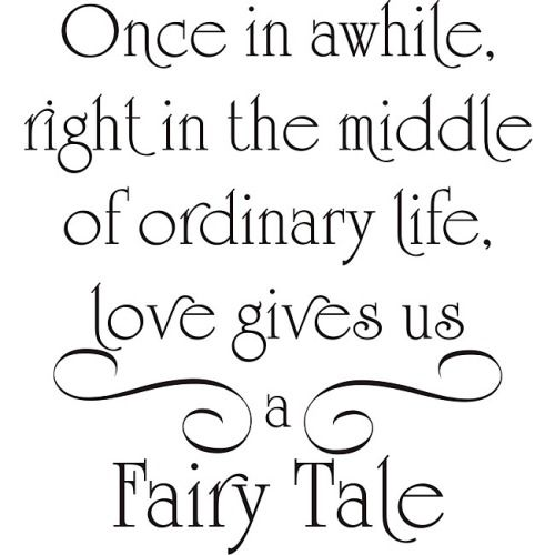 Love Gives Us A Fairy Tale Pictures, Photos, and Images