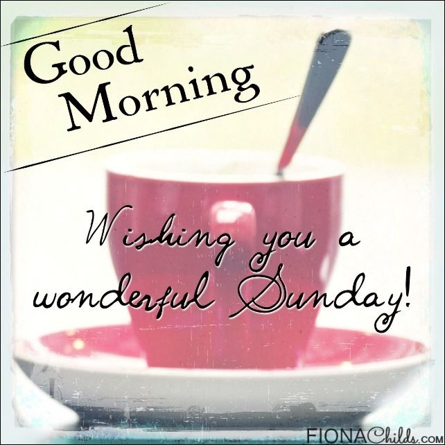 Good Morning Sunday Pictures Photos And Images For