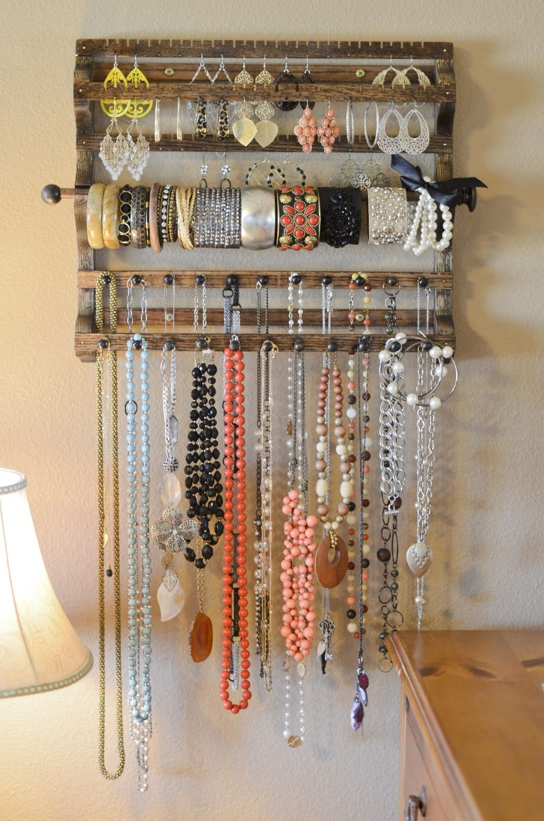 Wooden Jewelry Organizer Pictures Photos and Images for