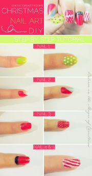 christmas nail tutorial