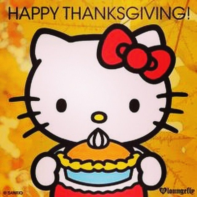 Hello Kitty Fall Wallpaper Happy Thanksgiving Hello Kitty Pictures Photos And