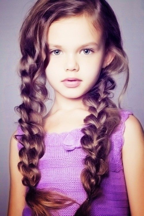 Summer Hairstyle For A Little Girl – Braids Pictures Photos And