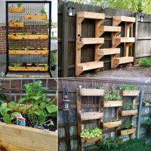 Make Vertical Herb Garden And