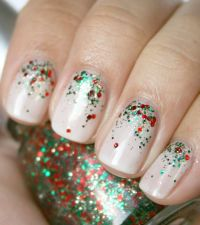 Simple Glitter Nail Art Pictures, Photos, and Images for ...