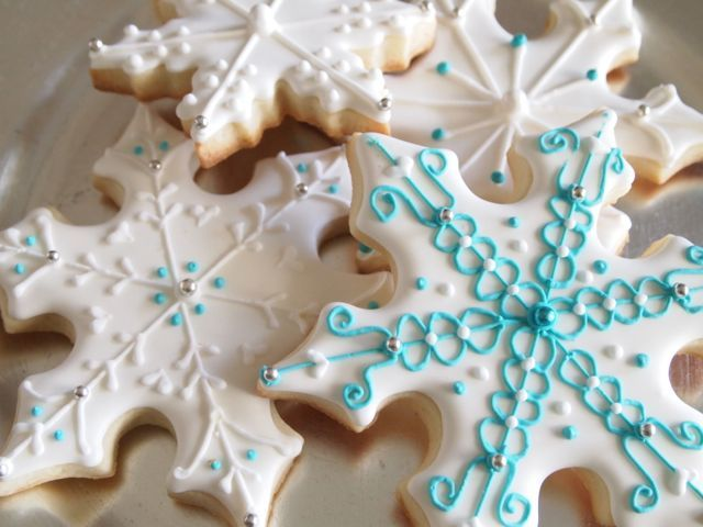 Pretty Snowflake Cookies Pictures Photos And Images For