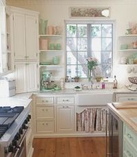 Vintage Shabby Chic Kitchen Pictures, Photos, and Images ...