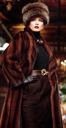 Brown Outfit With Fur Coat And Hat Pictures Photos and Images for Facebook Tumblr Pinterest