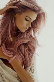 long pink hair