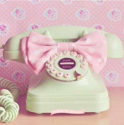 Retro Pastel Telephone Pictures Photos and Images for Facebook Tumblr Pinterest and Twitter