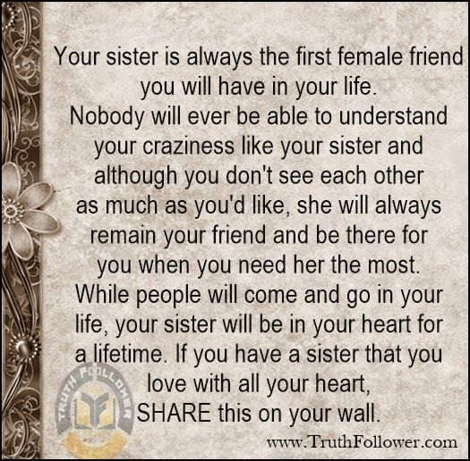Your Sister Pictures Photos And Images For Facebook