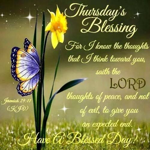 Thursday Blessings With Bible Verse Pictures Photos And Images For Facebook Tumblr Pinterest
