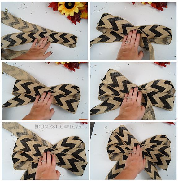 DIY Burlap Bow Pictures Photos And Images For Facebook
