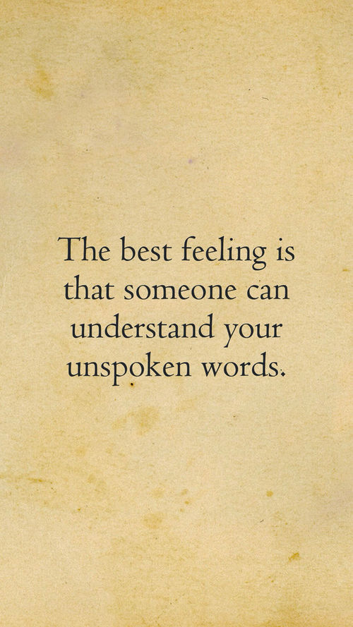 Understand Unspoken Words Pictures Photos and Images for Facebook Tumblr Pinterest and Twitter