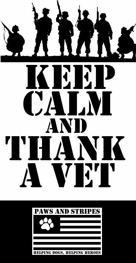 Keep Calm And Thank A Vet Pictures Photos And Images For