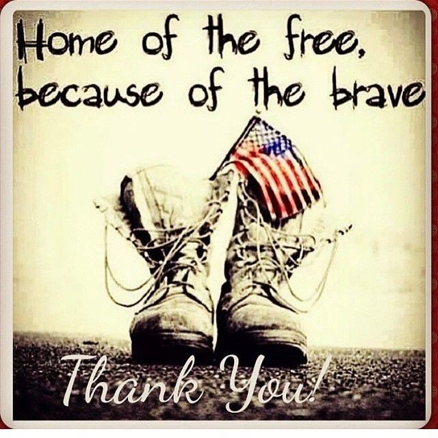 Image result for the home of the free because of the brave
