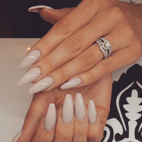 Beige Glossy Nails Pictures Photos and Images for Facebook Tumblr Pinterest and Twitter