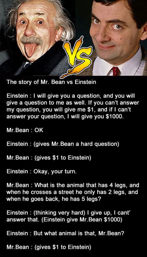 The Story Of Mr Bean Vs Einstein Pictures Photos and Images for Facebook Tumblr Pinterest