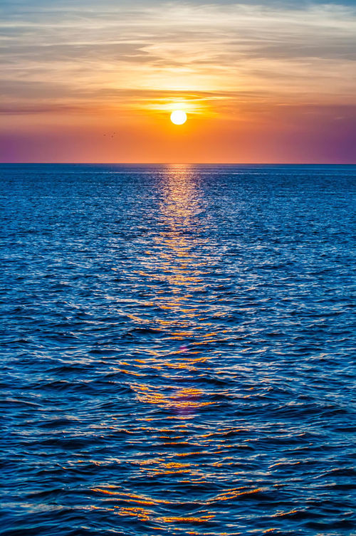 Sunset At Sea Pictures Photos And Images For Facebook