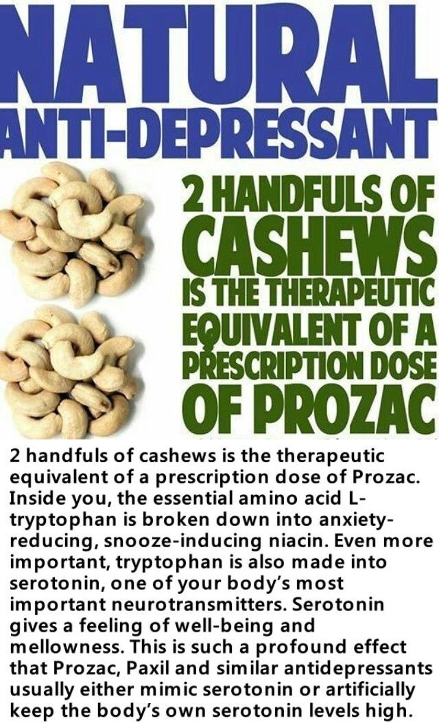 2 Hands Of Cashews Is The Equivalent Of A Dose Of Prozac Pictures Photos and Images for