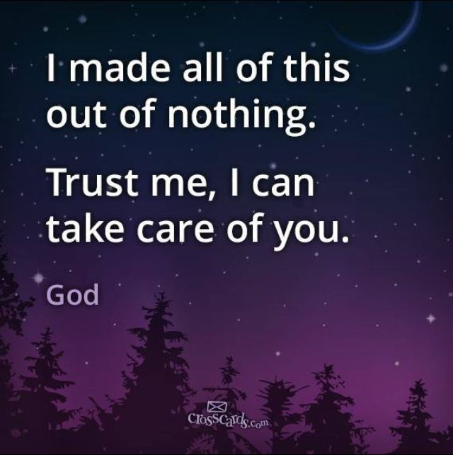 Image result for god takes care of me