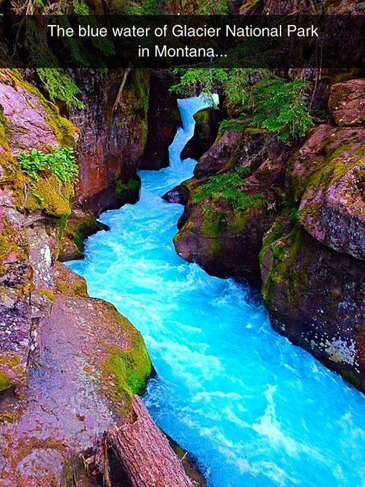 Easter Quotes And Sayings Wallpapers The Blue Waters Of Glacier National Park Pictures Photos
