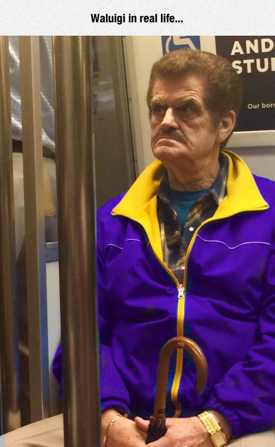 Waluigi In Real Life Pictures Photos and Images for