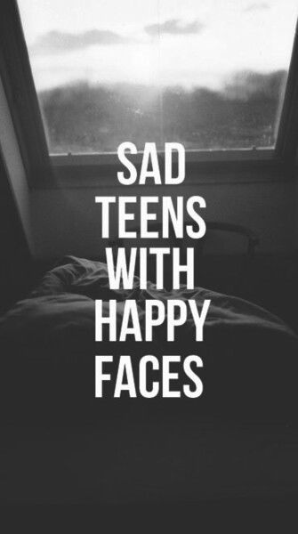 Sad Emo Girl Wallpaper Sad Teens With Happy Faces Pictures Photos And Images