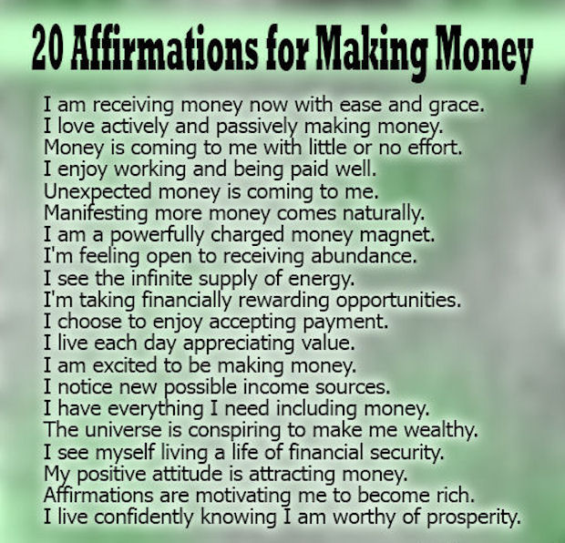 Billionaire Quotes Wallpaper 20 Affirmations For Making Money Pictures Photos And