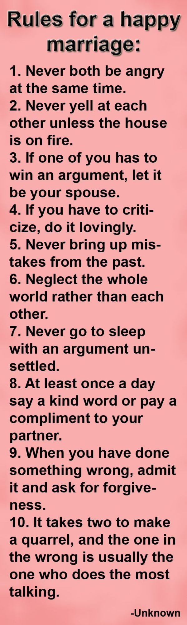 Rules For A Happy Marriage Pictures Photos and Images