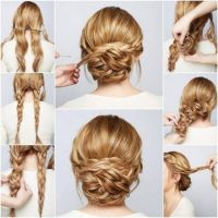 Braided Chignon Hair Tutorial Pictures, Photos, and Images ...