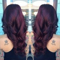 Dark Cherry Red Hair Color Pictures, Photos, and Images ...