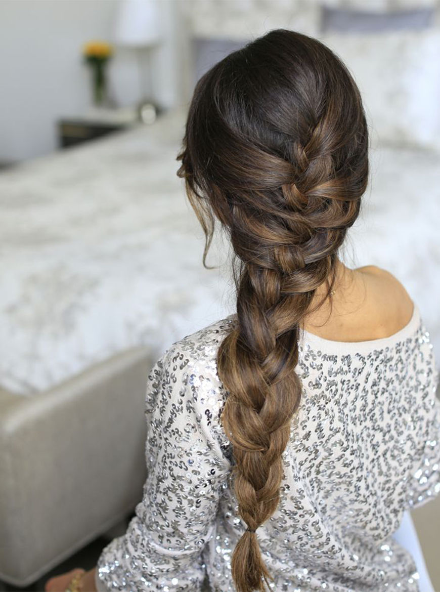 Over The Shoulder Elsa Braid Pictures Photos and Images for Facebook Tumblr Pinterest and